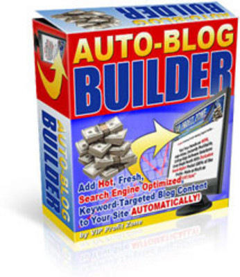 Product picture Auto-Blog Builder