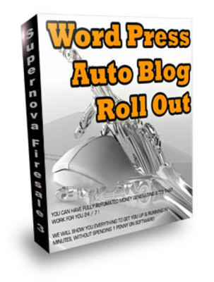 Product picture WordPress Auto Blog Roll Out Script