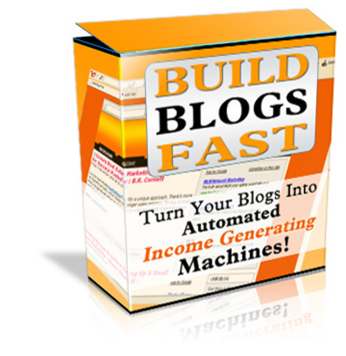 Product picture Build Blogs Fast Tutorial Package