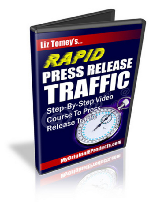Product picture Rapid Press Release Traffic MRR