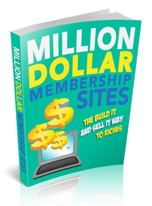 Product picture Million Dollar Membership Sites - MRR 2015