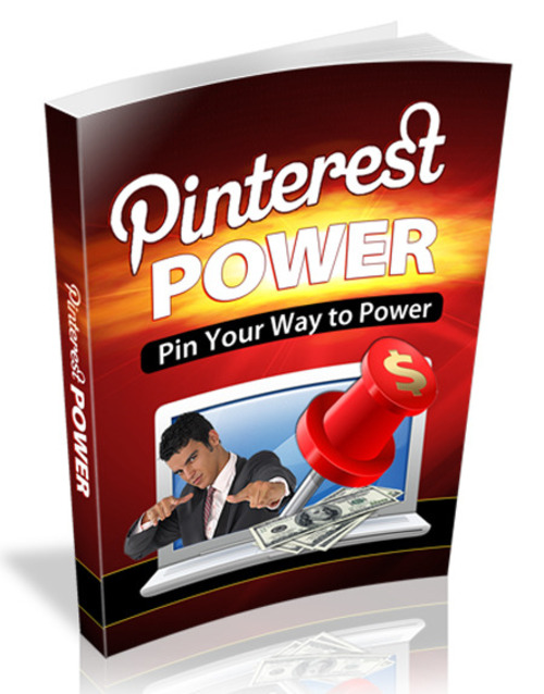 Product picture Pinterest Power - Pin Your Way to Power 2016