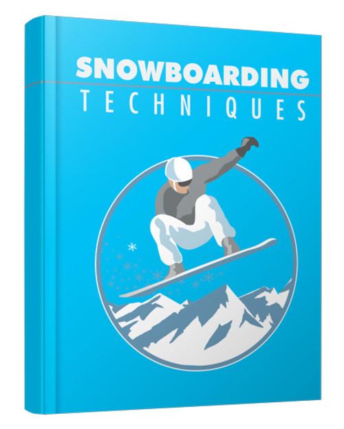 Product picture Snowboarding Techniques MRR 2016